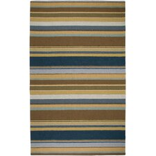 Waverly Brown Stripes Rug