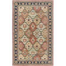 <strong>Rizzy Rugs</strong> Camden Red/Blue Persian Rug