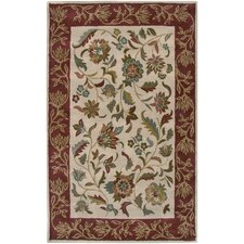 Bentley Ivory/Rust Persian Rug