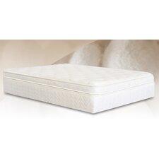 "Natural Silk Elegance 15"" Gel Memory Foam Comfort Adjust Mattress"