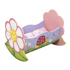 Magic Garden Rocking Bed for Dolls