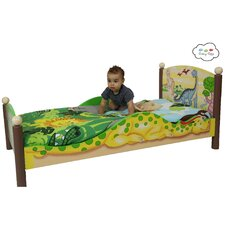 Dinosaur Kingdom Toddler Bed