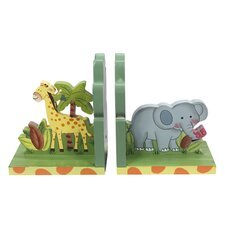 Fantasy Fields - Sunny Safari Set of Bookends (Set of 2)