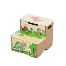 Dinosaur Kingdom 2-Step Step Stool