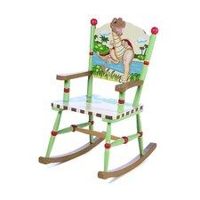 Dinosaur Kingdom Kids Rocking Chair