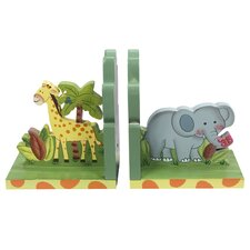 Sunny Safari Book Ends (Set of 2)