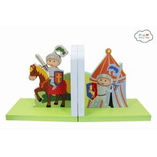 Knights & Dragons Book Ends (Set of 2)