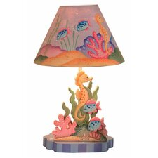 "Under the Sea 16"" H Table Lamp with Empire Shade"