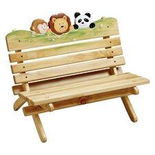 Sunny Safari Outdoor Bench