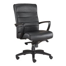 Manchester Mid-Back Leather Chair