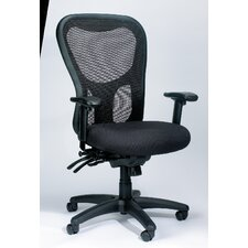 Apollo High-Back Mesh Chair with Seat Slider