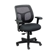 Apollo Mid-Back Mesh Swivel Chair with Arms