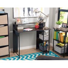 Serena 2-Piece Computer Desk and Bookcase Set