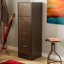 Jade 4-Drawer Filing Cabinet