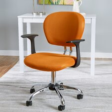 Harper Mid-Back Mesh Office Chair with Arms