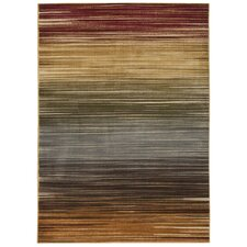 Universal Multicolored Stripe Rug
