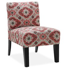 Palomar Slipper Chair in Crimson