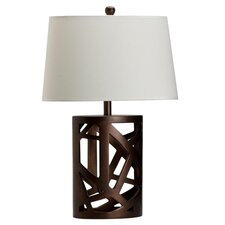 "25.5"" H Table Lamp with Fabric Shade"