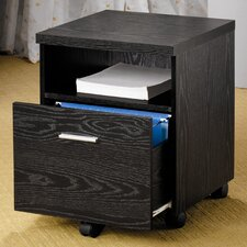 Cascade 1-Drawer Mobile File Cabinet