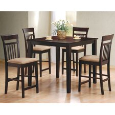 Derby 5 Piece Counter Height Dining Set