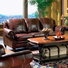 Harvard Leather Sofa