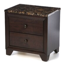Annetta South 2 Drawer Nightstand