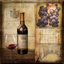 Vintage Wine Graphic Art