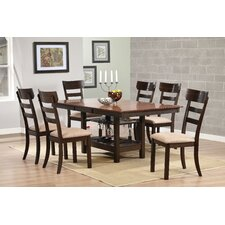 7 Piece Butterfly Leaf Dining Set