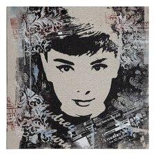 Audrey Hepburn Painting Print