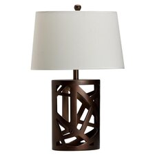 "25.5"" H Table Lamp with Empire Shade"
