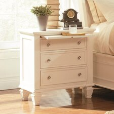 Glenmore 3 Drawer Nightstand
