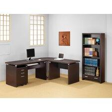 Beaver L-Shape Executive Desk Office Suite