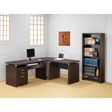 Beaver L-Shaped Desk Office Suite