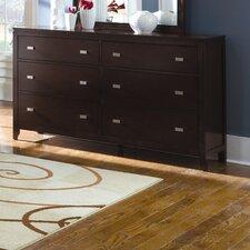 Carol 6 Drawer Dresser