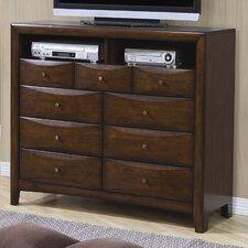 Hillary 9 Drawer TV Dresser