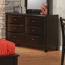 Applewood 6 Drawer Dresser