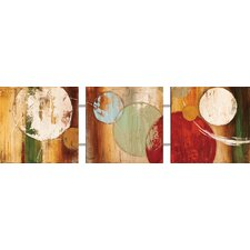 Planetary Orbit 3 Piece Painting Print Set