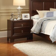 Douglas 2 Drawer Nightstand