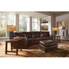 Princeton Bonded Leather Sectional