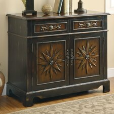 2 Door 2 Drawer Accent Cabinet
