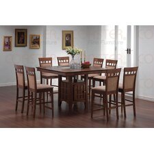 Hartsel 7 Piece Counter Height Dining Set