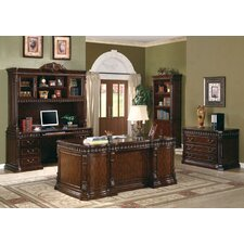 Corning Executive Desk with Drawers