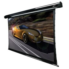 Acoustically Transparent Electric Projection Screen