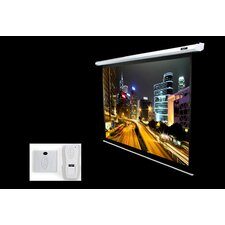 <strong>Elite Screens</strong> Matte White Electric Projection Screen