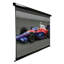 "Manual Series MaxWhite 120"" Projection Screen"