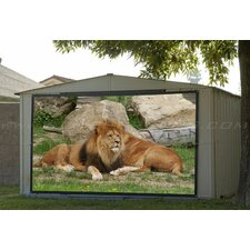 "Portable Outdoor DynaWhite  Projection Screen - 145"" 4:3 AR"