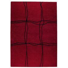 Ticta Red Area Rug
