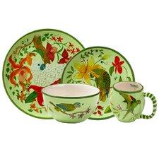 Parrotdise Dinnerware Collection