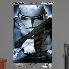 Star Wars Stormtrooper Closeup Wall Mural