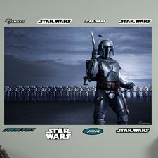 <strong>Fathead</strong> Star Wars Jango Fett Clone Arm Illustrated Wall Mural